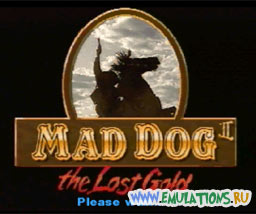 Заставка игры MAD DOG MCCREE 2 - THE LOST GOLD