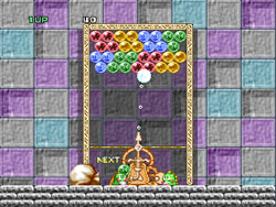 кадры из Puzzle Bobble
